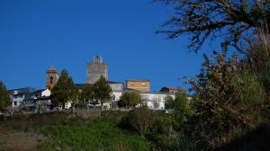 La Torre del Homenaje es el último vestigio del antiguo castillo medieval de Viana do Bolo.