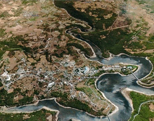 Vista Satélite Viana do Bolo