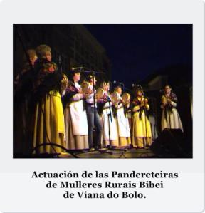 Actuación Pandereteiras Viana
