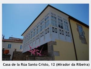 Casa de la Rua Santo Cristo 12