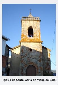 Fachada Iglesia de Santa María con título