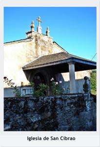 Iglesia de San Cibrao con título