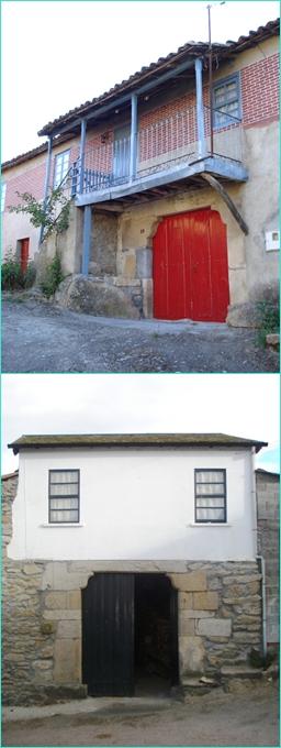 Mural Casas típicas