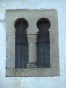 Ventana de la Iglesia de Santa María.