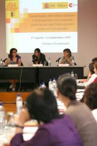 El Instituto Carlos Casares participa en un seminario de buenas prácticas en educación para el desarrollo.